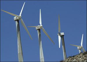Molinos de energia eólica