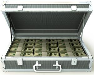 maletin de dinero