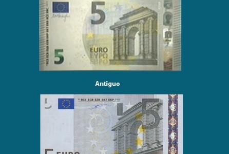 El nuevo billete de 5 euros entrará en circulación en Mayo