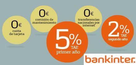 Cuenta Nómina Bankinter, la más rentable