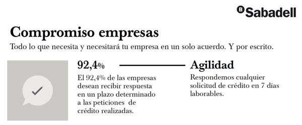 Compromiso Empresas de Banco Sabadell